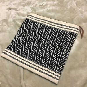Tribe alive Aztec fold over clutch